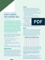 MSA With Attribute Data