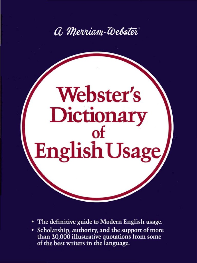 Websters dictionary of english usagepdf english language websters dictionary of english usagepdf english language dictionary fandeluxe Images