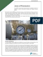 History of Flowmeters