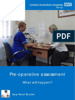 Pre Operative Assesment Leaflet