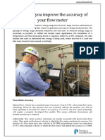 How Can You Improve the Accuracy of Your Flow Meter