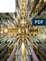 Sagrada Familia Nave Roof Detail