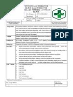 9.12.3 SPO Penyusunan Indikator Klinis Indikator Perilaku Pemberi Layanan Klinis