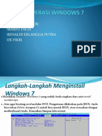 Sistem Operasi Windows 7 Marfu ,Renaldi ,,Defikri