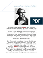 Biografia Francoise André Danican Philidor