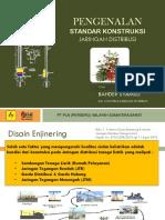 1. Standar Konstruksi Jaringan Distribusi (Utama)