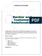 Banker and Customer