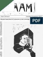 RAAM | Letterzetterkrant 26 augustus 2017