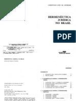 Andrade, no J de - Hermeneutica Juridica No Brasil