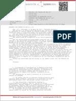 DFL 237 de Desarrollo (Ex-Planificación; Ex-Bienestar Social) de 1931 (Aguas Termales)