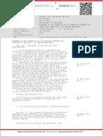 DFL 292 de Defensa de 1953 (Dirección General Del Territorio Marítimo y Marina Mercante)