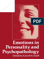 (Emotions, Personality, And Psychotherapy) Carroll E. Izard (Auth.), Carroll E. Izard (Eds.)-Emotions in Personality and Psychopathology-Springer US (1979)