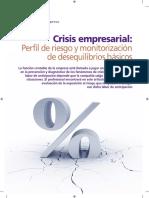 Crisis Empresarial, Perfil de Riesgo y Monitorizacion de Desequilibrios Basicos (PartidaDoble, No 206).