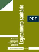 Operação e Manutenção de Sistemas Simplificados de Tratamento de Esgoto 1