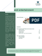 Research Industry Information Report Media Entertainment
