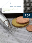 In Audit Ind as 32 and Ind 109 Financial Instruments Noexp