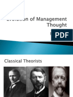 4 Evolution of Management Thought