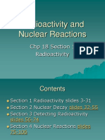 Radioactivity and Nuclear Reactions