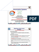 1-2 Inroduction to Communication Systems Lectures 1,2