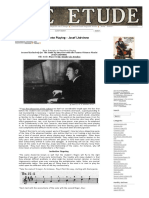 Basic Principles in Pianoforte Playing - Josef Lhévinne - %22The Etude%22 Music Magazine, November, 1923.pdf