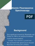 Atomic Fluoresence Spektrokopi