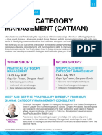 2017 CatMan Workshop Series