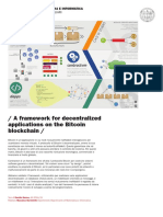 A Framework for Decentralized Applications on the Bitcoin Blockchain