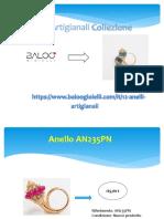 Acquistare Anelli  Artigianali On line