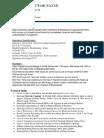 Dhirendra Ku Nayak Ccna Ccnp Networking Resume