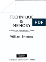 Technique is Memory - Primrose