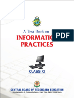 Informatics Practices Class Xi
