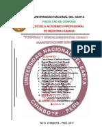 Porfirias y Hemoglobinopatias