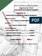 3.1 Tipos de Prefabricas
