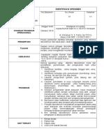 SPO Identifikasi Pasien Laboratorium