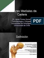 Fracturas Mediales de Cadera