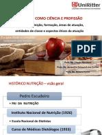 Aula Nutrição Como Ciência e Profissão