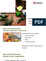 Bases Gastronomia - Ervas e Especiarias