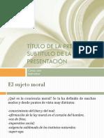 El sujeto moral 2-1
