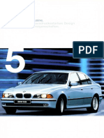 Bmw e39 Brochure 1998 Ger