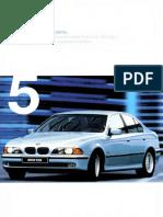 Bmw e39 Brochure 1998 Ger