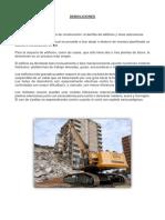 Demoliciones y Remociones