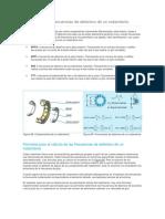 Componentes y Frecuencias de Deterioro de Un Rodamiento