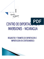 Trámites de Exportación e Importación en Nicaragua