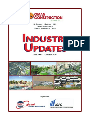 Oman Construction Summit 2011 Industry Update October   Oman