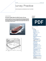 Marine Survey Practice_ Surveyor Guide Notes for Bulk Carriers Survey