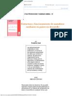 Estructura y Funcionamiento de Mataderos Medianos en Países en Desarrollo0