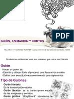 2 Guion Animacion y Corto Taller 6