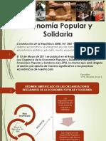 ORGANIZACIONES DE LA ECONOMIA POPULAR Y SOLIDARIA