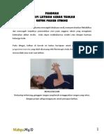 Terapi Latihan Gerak Tangan Stroke
