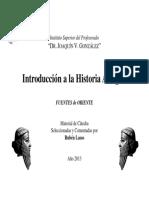 Fuentes de Oriente - Catedra Lasso ISPJVG